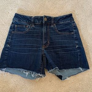 AE Super Stretch Cutoff Jean Shorts